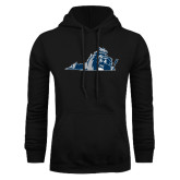 Black Fleece Hoodie-Lion State