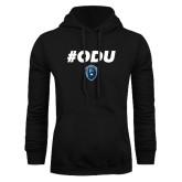 Black Fleece Hoodie-ODU Hashtag
