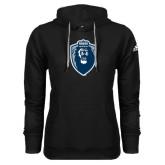 Adidas Climawarm Black Team Issue Hoodie-Lion Shield