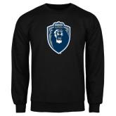 Black Fleece Crew-Lion Shield