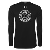 Under Armour Black Long Sleeve Tech Tee-10 Years Football