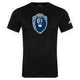 Adidas Black Logo T Shirt-Lion Shield