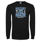 Black Long Sleeve T Shirt-History Made - ODU vs VT