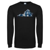 Black Long Sleeve T Shirt-Lion State