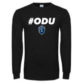 Black Long Sleeve T Shirt-#ODU