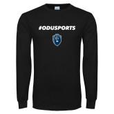 Black Long Sleeve T Shirt-#ODUSPORTS