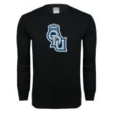 Black Long Sleeve T Shirt-ODU Step