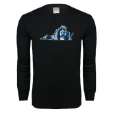 Black Long Sleeve T Shirt-Lion State