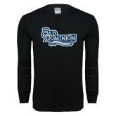 Black Long Sleeve T Shirt-Old Dominion University