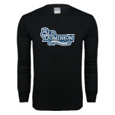 Black Long Sleeve T Shirt-Lady Monarchs