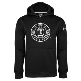 Under Armour Black Performance Sweats Team Hoodie-10 Years Football