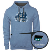 Contemporary Sofspun Carolina Heather Hoodie-Primary Mark