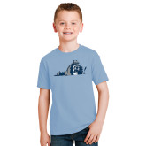 Youth Light Blue T Shirt-Lion State