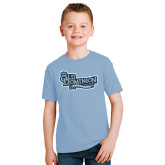 Youth Light Blue T Shirt-Old Dominion University