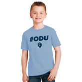 Youth Light Blue T Shirt-#ODU