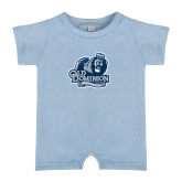 Light Blue Infant Romper-Primary Mark