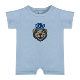Light Blue Infant Romper-Youth Mark Head