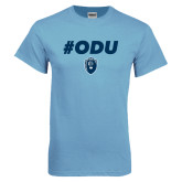 Light Blue T Shirt-ODU Hashtag