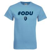 Light Blue T Shirt-ODU Hashtag