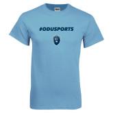Light Blue T Shirt-ODUSPORTS Hashtag