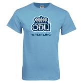 Light Blue T Shirt-Wrestling