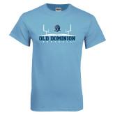 Light Blue T Shirt-Football Field
