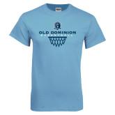 Light Blue T Shirt-Basketball Net