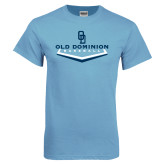 Light Blue T Shirt-Baseball Plate