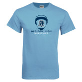 Light Blue T Shirt-Wrestling Helmet