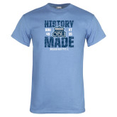 Light Blue T Shirt-History Made - ODU vs VT