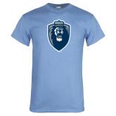 Light Blue T Shirt-Lion Shield