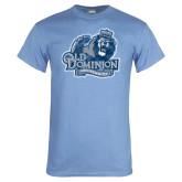 Light Blue T Shirt-Primary Mark Distressed