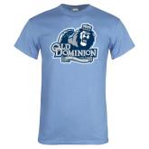 Light Blue T Shirt-Lady Monarchs - Lion