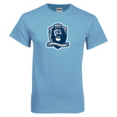 Light Blue T Shirt-Monarchs Shield