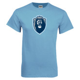 Light Blue T Shirt-Lion Shield