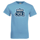 Light Blue T Shirt-ODU with Crown