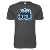 Next Level SoftStyle Charcoal T Shirt-ODU w Crown