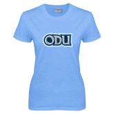 Ladies Sky Blue T-Shirt-ODU