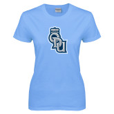 Ladies Sky Blue T-Shirt-ODU Step