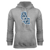 Grey Fleece Hoodie-ODU Step