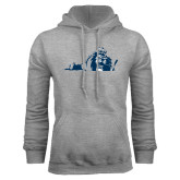 Grey Fleece Hoodie-Lion State