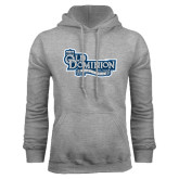 Grey Fleece Hoodie-Old Dominion University