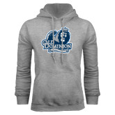Grey Fleece Hoodie-Lady Monarchs