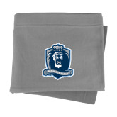 Grey Sweatshirt Blanket-Monarchs Shield