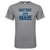 Grey T Shirt-History Made - ODU vs VT