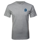 Grey T Shirt-Monarchs Shield