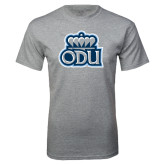 Grey T Shirt-ODU with Crown