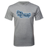 Grey T Shirt-Old Dominion University