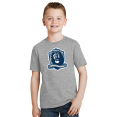 Youth Grey T-Shirt-Monarchs Shield