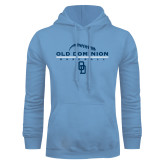 Light Blue Fleece Hoodie-Baseball Threads